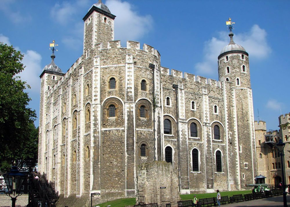 White Tower in London (Bild: Bernard Gagnon, Wikimedia, CC)