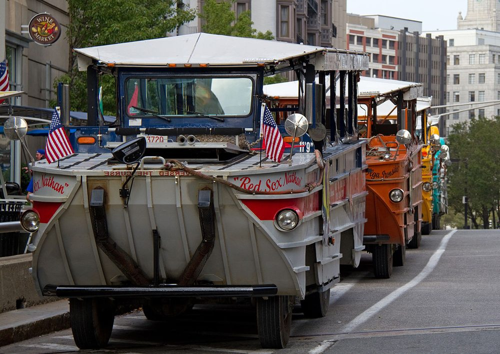 Duck Tour in Boston (Bild: Tony Hisgett, Wikimedia, CC)