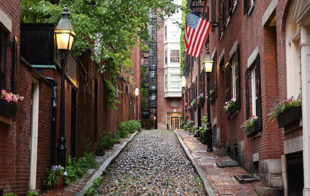 Uptown-Idylle – Beacon Hill in Boston (Bild: Ian Howard, Wikimedia, CC)