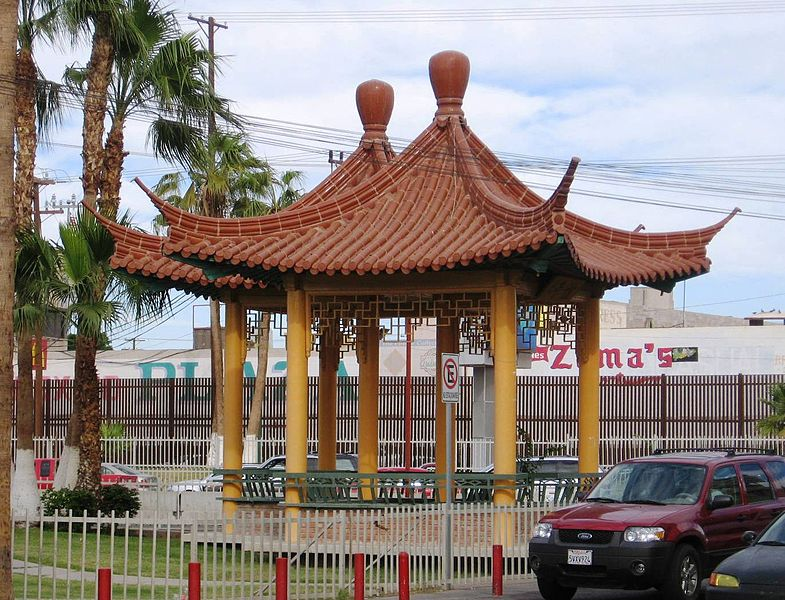 Chinesische Pagode in Mexicali (Bild: Thelmadatter / Wikimedia / public domain)
