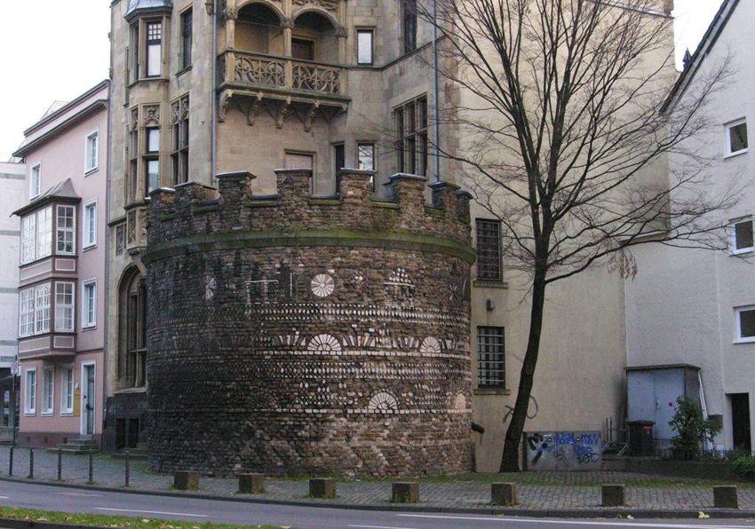 Römerturm in Köln (Bild: Hps-poll at the German language Wikipedia, Wikimedia, CC)