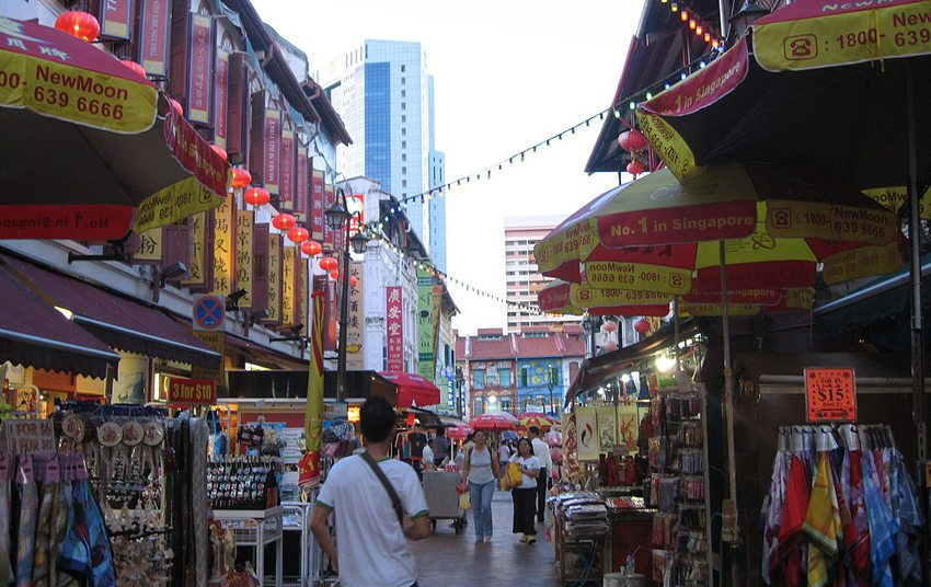Chinatown in Singapur (Bild: Terence Ong, Wikimedia, CC)