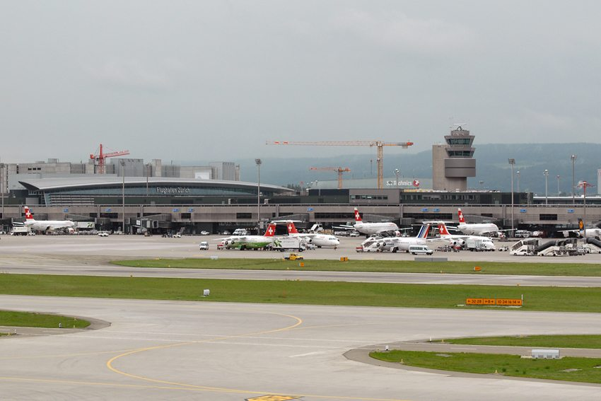 Zürich International Airport (Bild: Jakkrit Prasertwit, Wikimedia, CC)