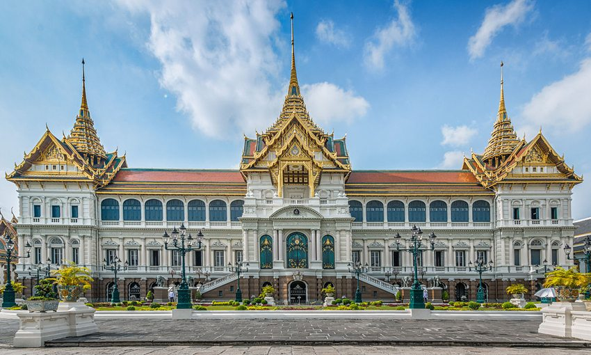 "Der ""Grosse Palast"" in Bangkok (Bild: Andy Marchand, Wikimedia, CC)"