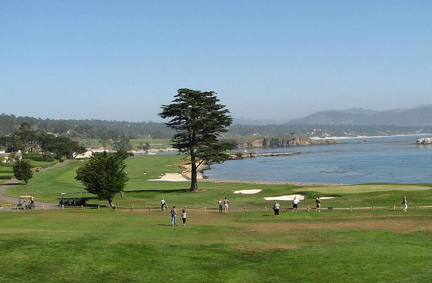 Cypress Point Club, Pebble Beach, USA (Bild: Bernard Gagnon, Wikimedia, CC)