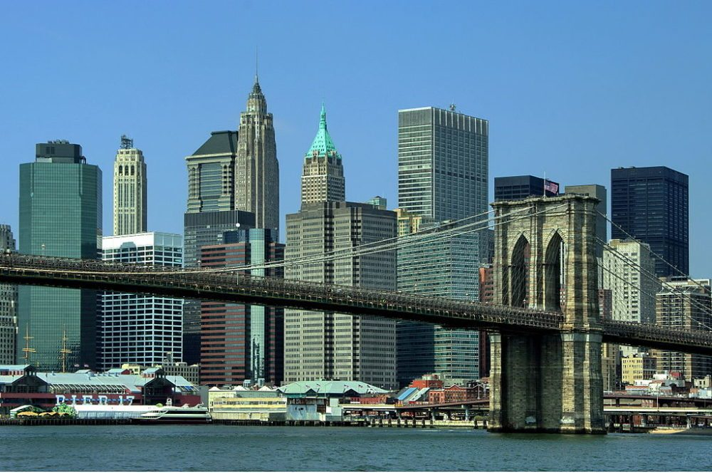 Brooklyn Bridge in New York (Bild: Dr.G.Schmitz, Wikimedia, CC)