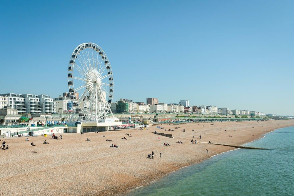 "Die englische Küstenstadt Brighton hat den Beinamen ""London by the Sea"". (Bild: © Steve Mann - shutterstock.com)"