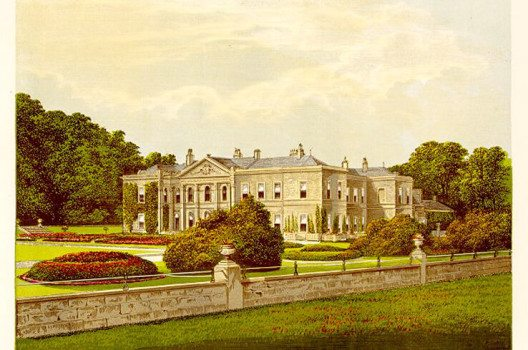 Studley Royal House 1880 (Bild: Wikimedia)