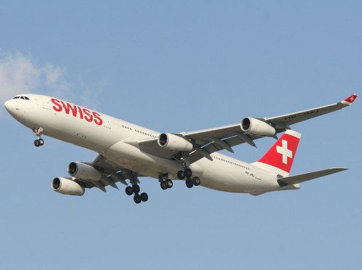 "Swiss International Airlines kommt im internationalen Ranking auf Platz 3. (Bild: © Oyoyoy / Wiki / <a href=""https://creativecommons.org/licenses/by-sa/3.0/deed.en"" target=""_blank"">CC BY-SA 3.0</a>)"