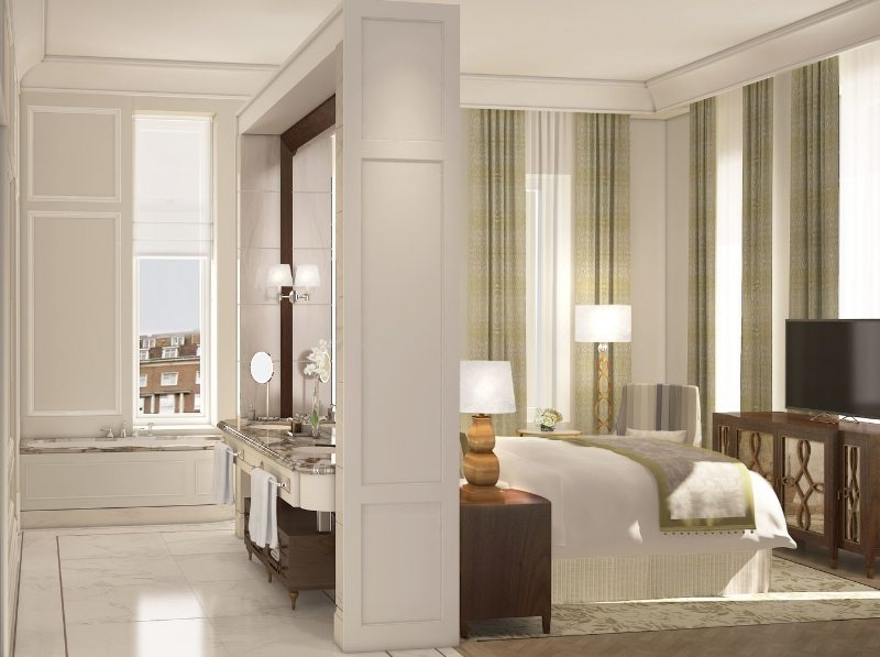Master Bedroom (PRNewsFoto/The Langham)