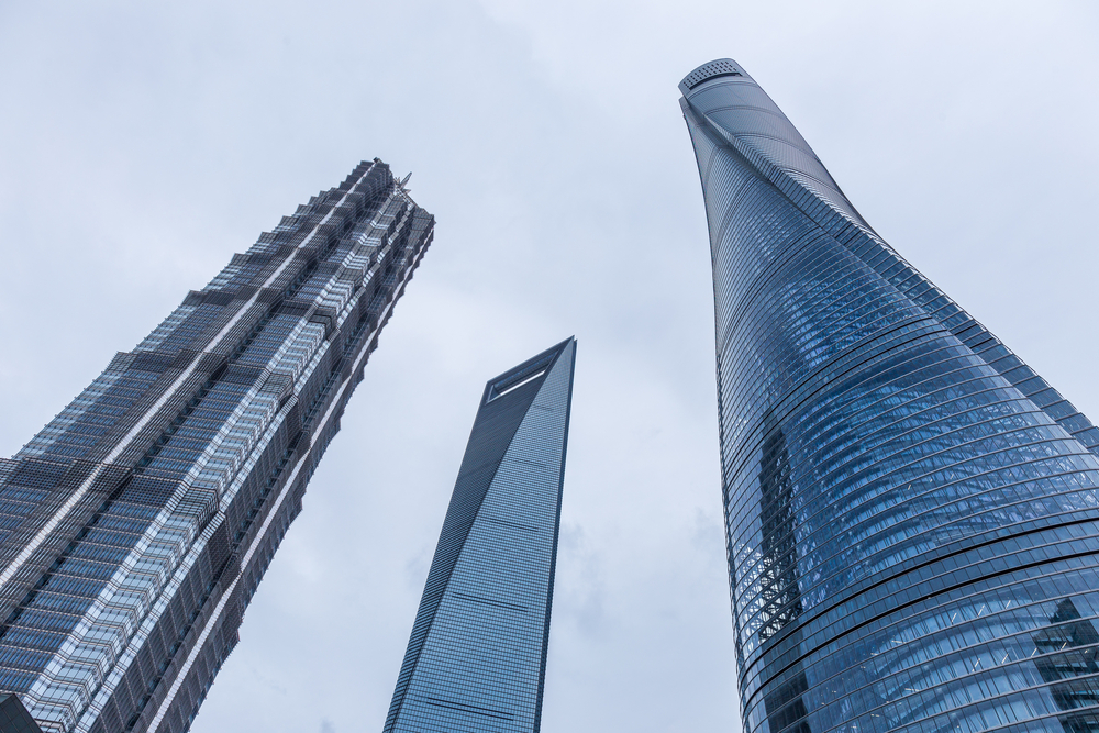 Shanghai Tower, World Financial Center und Jin Mao Tower, Shanghai (Bild: Pavel Tvrdy - shutterstock.com)