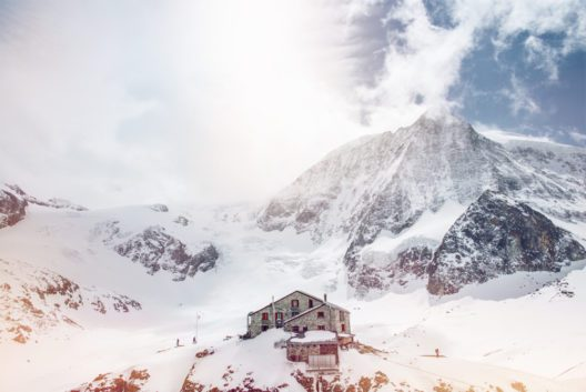 Cabane des Dix, Mt. Blanc Cheillon, Winter im Wallis (Bild: © Valais_Wallis Promotion - David Carlier)